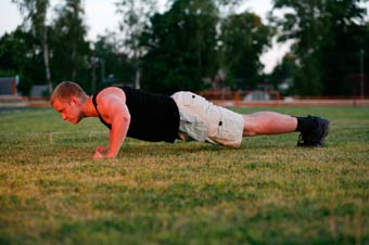 Strength Training Routines - Push-ups