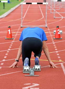 Speed is essential, for runners and all other athletes.